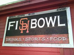 Fishbowl Bar & Grill in San Francisco, CA: Small bar with a big sports ambiance and extremely hot wings. Lots of college sports on the televisions but they will definitely be playing the World Cup. Find more places to watch the World Cup in the USA: http://pin.it/AeGWA1a