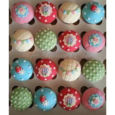 Kidston Inspired Cupcakes