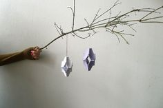 16 Ways to Upcycle Egg Cartons (like these egg carton ornaments)
