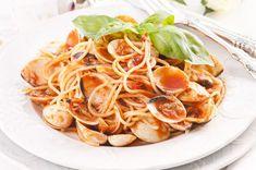 Recipe: Pasta in Red Clam Sauce