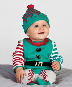 Elf Holiday One Piece at Mamas & Papas