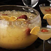 punch recip, ginger, ale, drink, mimosa punch, brunch, mimosas, orange juice, bridal showers