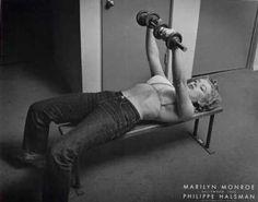 Marilyn Monroe <3 #vitaminshoppe #contest #fitnesspinspiration
