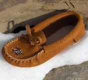 Indian Suede moccasins