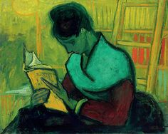Van Gogh. Novel reader