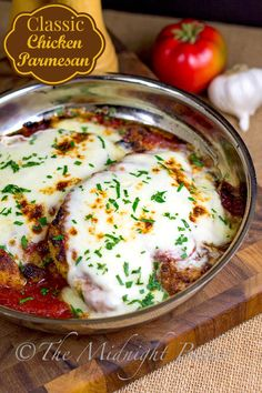 A Chicken Parmesan recipe your whole family will love.