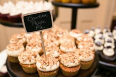 Check out this sweet blog post about Tiffany and Jay's wedding at the Gray Unitarian Church and reception at the Mills House Hotel in Charleston, SC   photo by Carolina Photosmith, wedding cupcakes by Cupcake DownSouth!