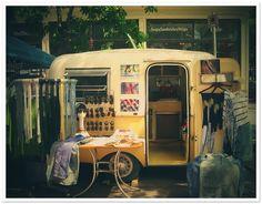 Lune's Vintage pop-up shop can travel