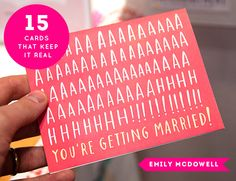It's time to talk about the National Stationery Show! First up are 15 CARDS THAT KEEP IT REAL (funny sayings/phrases) #cards #stationery #funny