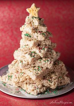 Andrea Meyers - Rice Crispy Treat Christmas Tree