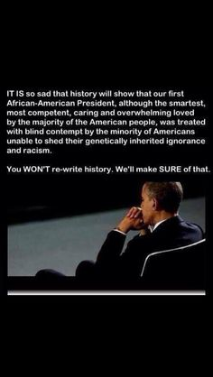 I will stand for decency & good. I WILL STAND WITH PRESIDENT OBAMA!!