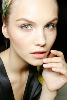 The Best Spring '13 Nail Trends to Try Now: Pale Nails - Featured: Dolce & Gabbana