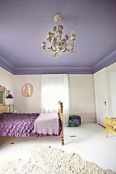 purple ceiling