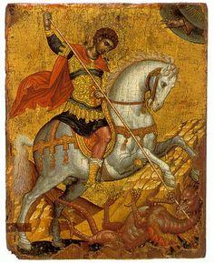 Byzantine Icon of Saint George