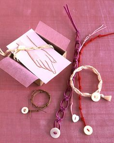 Knot Friendship Bracelets For Valentines Day