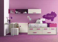 #Dormitorios juveniles que se adaptan a cualquier situación