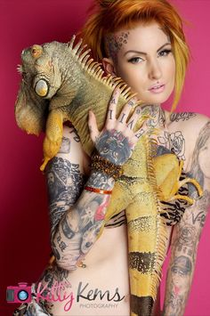 #tatto girl #inked doll