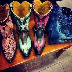 #Old Gringo #Leather #Handmade #Eagle and #leopardito #animalprint #western #cowgirl #fashion #Boots at #RiverTrail in North Carolina.