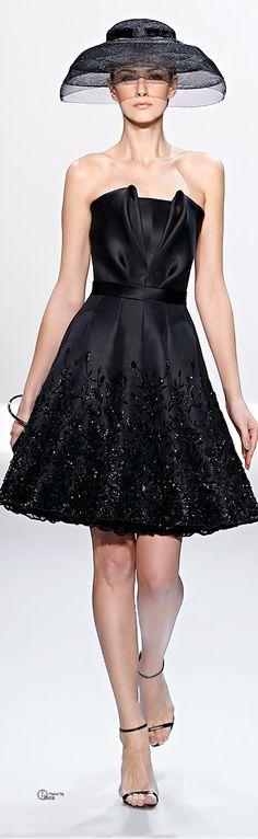 2014 coutur, fashion, ralph russo, cloth, coutur 2014, little black dresses, haut coutur, hat, haute couture