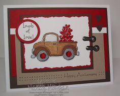 """Loads of Love"" Stampin Up"