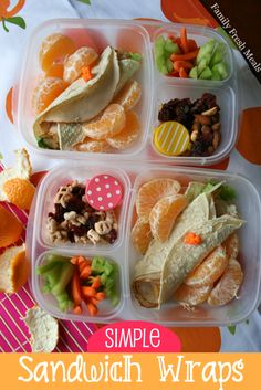 TONS of adult and kid friendly lunch ideas on this site! FamilyFreshMeals.com