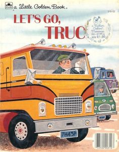 let's go, trucks! a little golden book