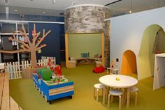 The Heimbold Family Children's Learning Center at The American-Scandinavian Foundation. This indoor play space for children integrates the best of Scandinavian design while emphasizing early childhood sensory perception. Magical!