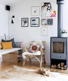 #fireplace #living #room