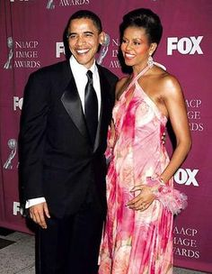 Successful, in love, grounded, real.    Barack n Michelle Obama