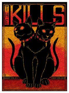 The Kills/Black Bananas - Los Angeles, CA - Jim Mazza