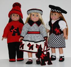 crochet  American Girl doll clothes pattern