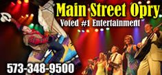 """A wonderful show. Other pictures are on this board inside the """"Main Street Opry"""" we attended. Well worth seeing."""