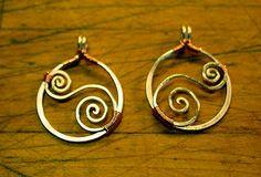 Simply Swirled Wirework Earrings