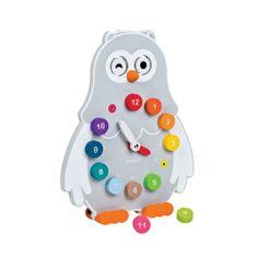 Owly Clock #giggle #toy #cute #development