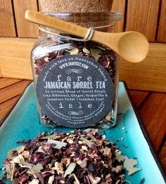 Organic Jamaican Sorrel (Hibiscus) Tea   Fare Isle