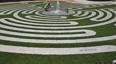 Labyrinth - Rose Kennedy Greenway in Boston