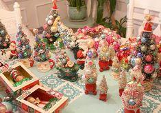 Bottlebrush tree crafts