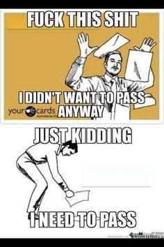 Every week feels like finals week.