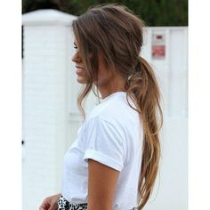 love this for a dirty hair day