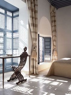digdaga decor, interior design, writing desk, ryad dyor, desks, windows, morocco, bedroom designs, curtain