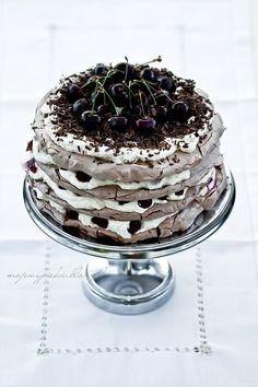 Pom-Pom-Baiser-Kuchen