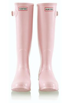 Pearly pink Hunters. So much cute than the hot pink