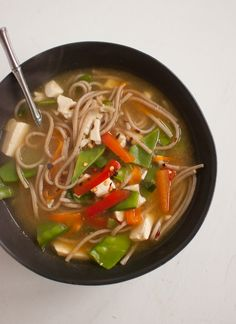 Miso Noodle Soup from Cookie and Kate