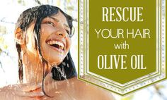 How to Repair Your Hair with Olive Oil