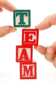 lets work as team in the classroom
