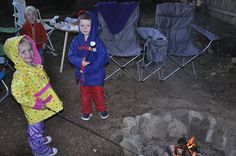 Fire pit- Rain, Rain, Come and Play: Backyard Adventures for the Wet Season - ParentMap