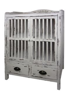 A Home  Wood Cabinet $155