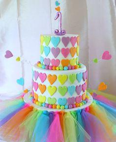 Rainbow First Birthday