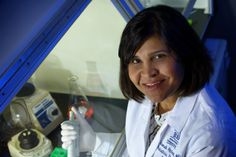 Virologist Deborah Persaud has done ground-breaking work on HIV at the Johns Hopkins Children's Centre in Baltimore, Maryland.