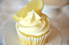 Limoncello cupcakes (lemon cupcake base + lemon curd filling + lemon buttercream).